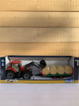 CASE IH OPTUM+CHARGEUR+8BALLE 1/16