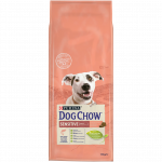 DOG CHOW CHIEN SENSITIVE AVEC DU SAUMON - 14 KG