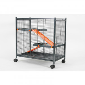 Cage INDOOR mini loft orange